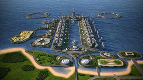 Khazar Islands - miasto przyszłości w Azerbejdżanie