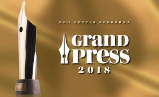 Karolina Baca-Pogorzelska i Michał Potocki z nagrodą Grand Press 2018