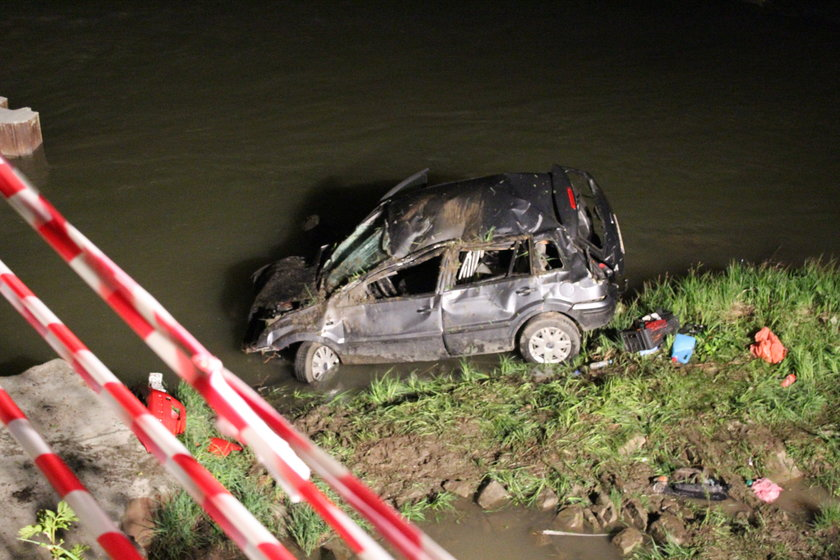 Wypadek w Bieszczadach