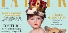 Dziecko Kate i Williama już na okładce