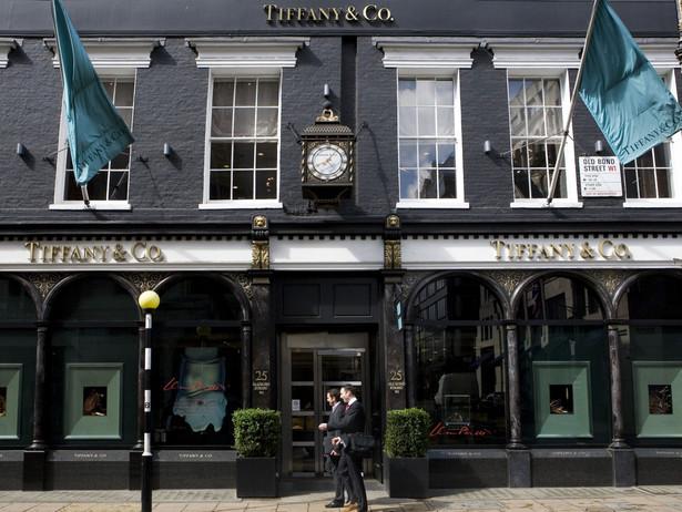 Sklep Tiffany'ego w Wielkiej Brytanii