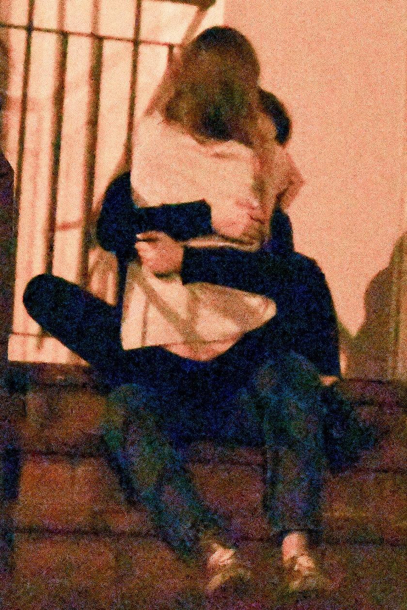 Adam Zdrójkowski z dziewczyną