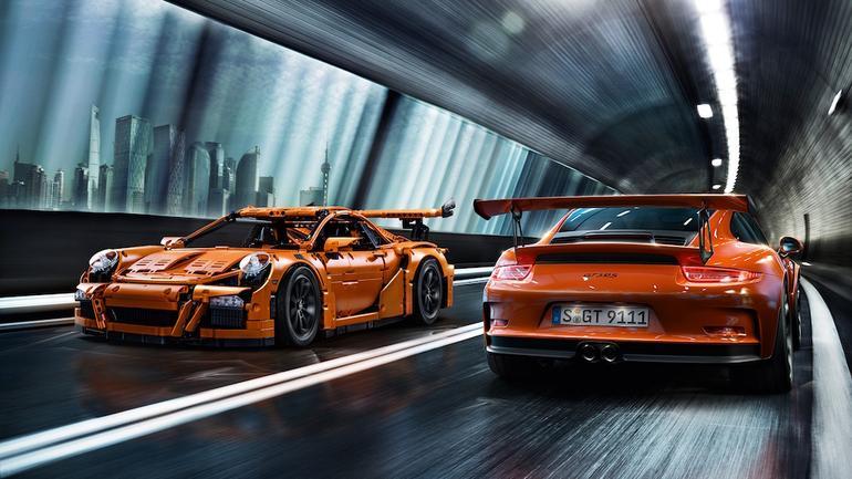 Porsche 911 GT3 RS - Lego
