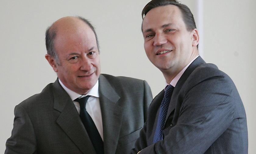 Jacek Rostowski, były minister finansów i Radek Sikorski, były szef MSZ i były marszałek Sejmu