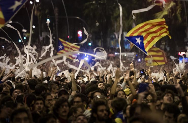 Barselona, protest