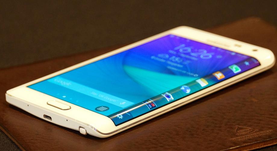 Hands-on: Samsung Galaxy Note Edge
