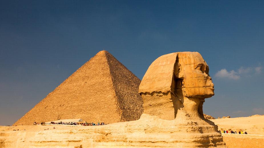 Starożytne zabytki w Egipcie zapierają dech w piersiach