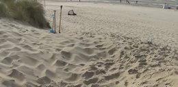 Tragedia na plaży! 14-latek zasypany piaskiem