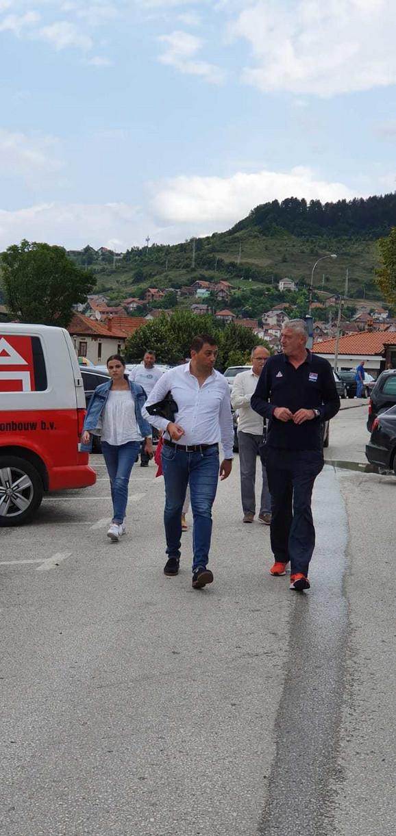 Delegacija KSS u poseti Novom Pazaru