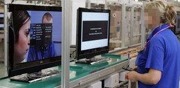 Brzydkie robotnice w polskiej fabryce LG?