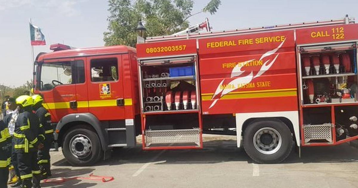 CBN says fire outbreak at Gombe branch didn't damage any record - Pulse Nigeria