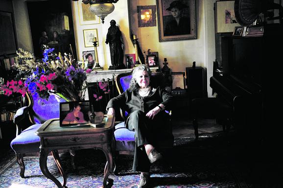 Breda Kalef u svom domu