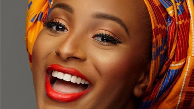"""DJ Cuppy looks stunning as the latest Maybelline """"IT Girl""""!"""