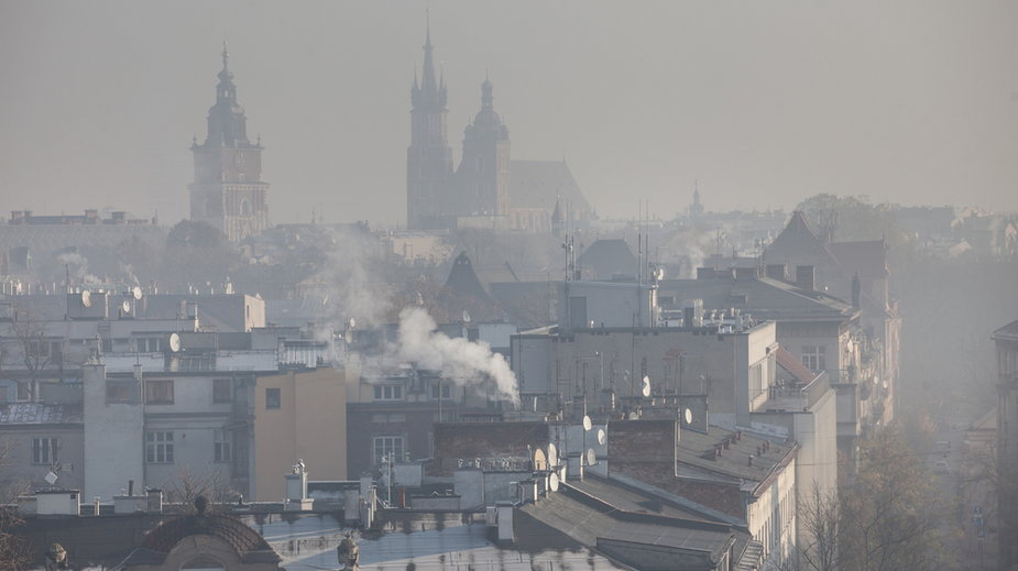 Smog w Krakowie (zdj. ilustracyjne)