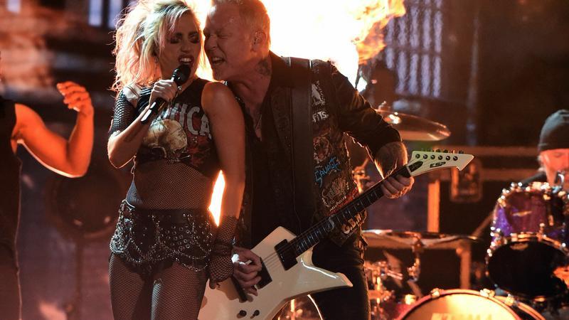 Metallica i Lady GaGa na Grammy 2017