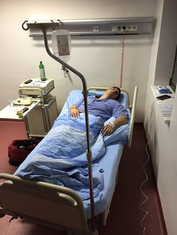 U bolnici, čeka drugu operaciju: Kristijan Golubović