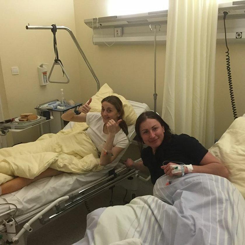 Kowalczyk pokazała blizny na kolanie po operacji!
