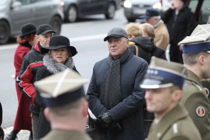 Znani na pogrzebie Bogusława Kaczyńskiego