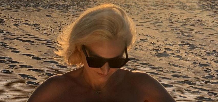 Reni Jusis pokazła się topless. Taka frywolna dawno nie była!