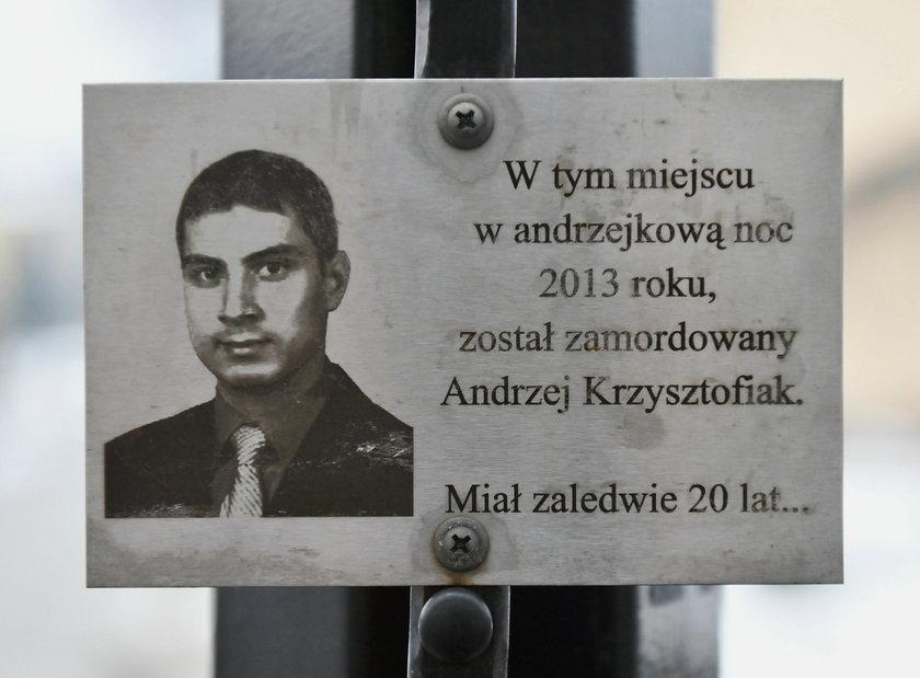 Żądamy dożywocia za zabójstwo Andrzeja