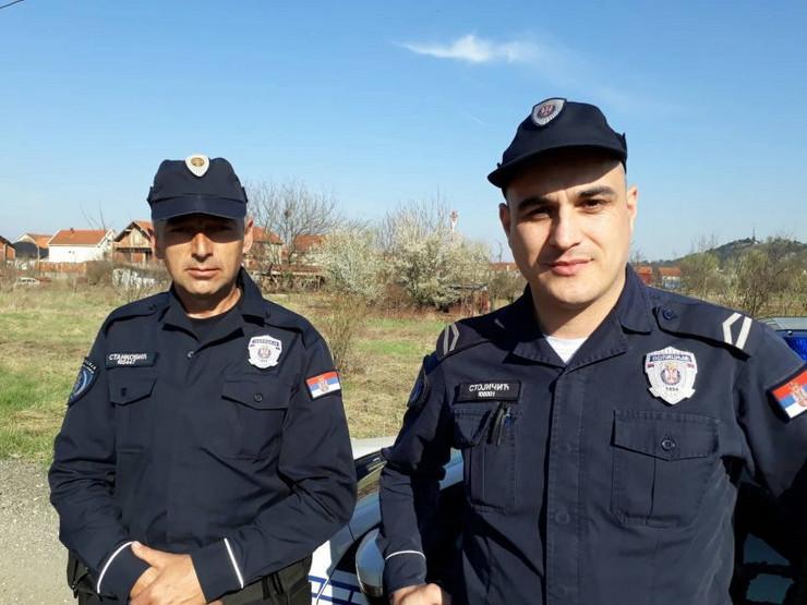 policajci, leskovac