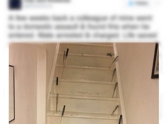 Slika ovih stepenica krije TRI JEZIVA DETALJA: I kada ih vidite, UREZAĆE vam se u pamćenje