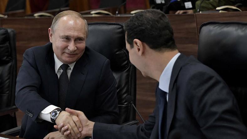 Władimir Putin i Baszar Assad