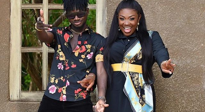 Emelia Brobbey collaborates with Kuami Eugene after failing to impress Ghanaians (VIDEO)