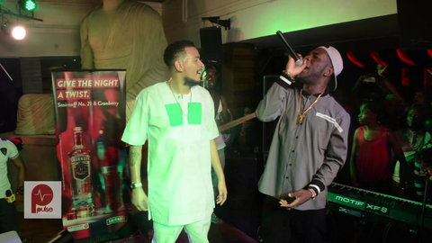 Burna Boy has threatened to deal with AKA if and whenever the get to see.