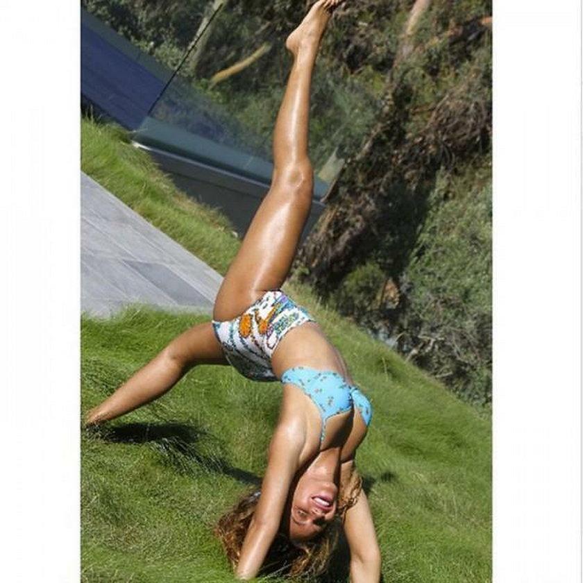 gwiazdy ćwiczenia gimnastyka celebryci galeria