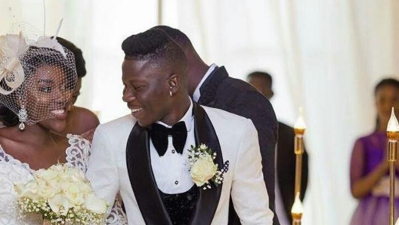 Stonebwoy and his sweetheart, Dr Louisa Ansong tie the knot