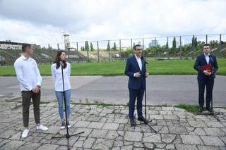 Morawiecki: Prosimy o przekazanie stadionu 'Skry', chcemy wykonać remont za Rafała Trzaskowskiego