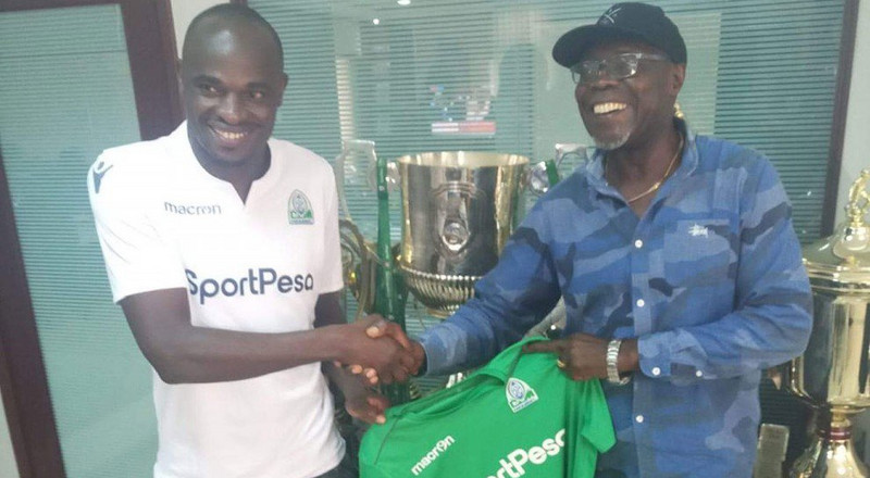 Why Gor Mahia has terminated Dennis Oliech's contract effective immediately