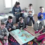 Porodica Adamović, Bačka Palanka, desetoro dece