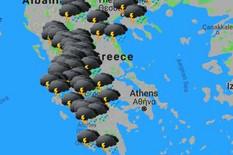 KADA VIDITE PROGNOZU, ZALEDIĆETE SE Nevreme u Grčkoj upropastilo letovanje turistima, očekuju se ŠOK TEMPERATURE (MAPA)