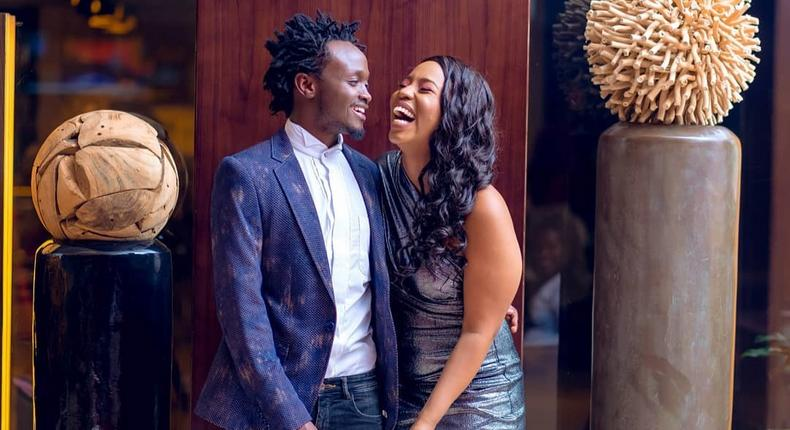 Bahati dares wife to call her ex-boyfriend, asks her to say these words