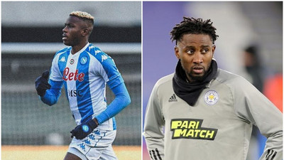 Super Eagles star Victor Osimhen and Wilfred Ndidi listed among the top 150 most-valuable players in world football