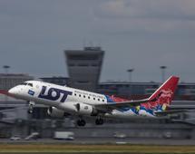 Połączenie PLL LOT z Warszawy do Billund w Danii obsłużą samoloty Embraer 170 i 175