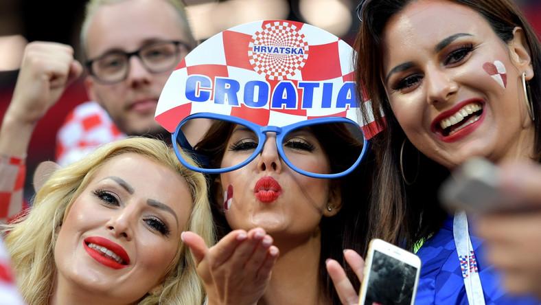 Fanki reprezentacji Chorwacji