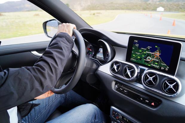 Mercedes Klasy X - jazda próbna