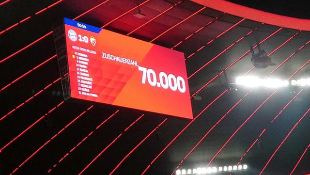 Zvanična poseta - 70.000