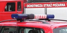 Pożar na Marszałkowskiej. Strażacy na ulicy