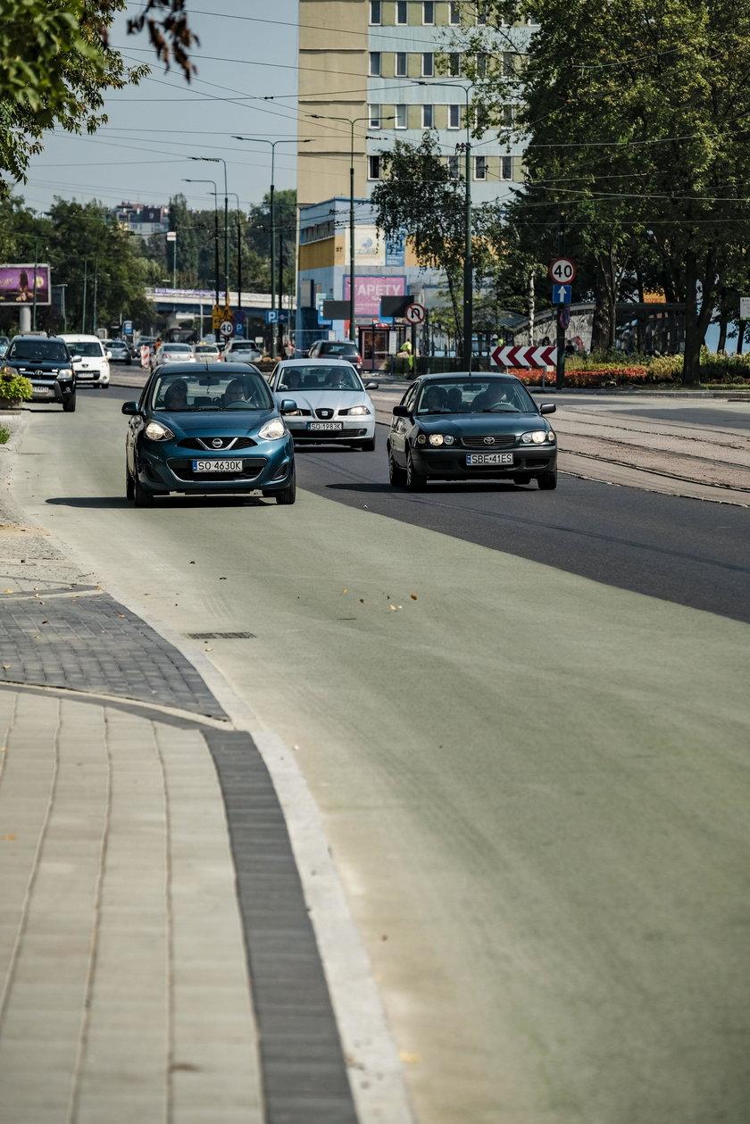 Sosnowiec. Pierwsze buspasy i inteligentne przejscia dla pieszych
