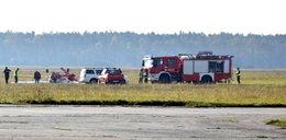 Samolot spadł na ziemię! Dwie osoby ranne