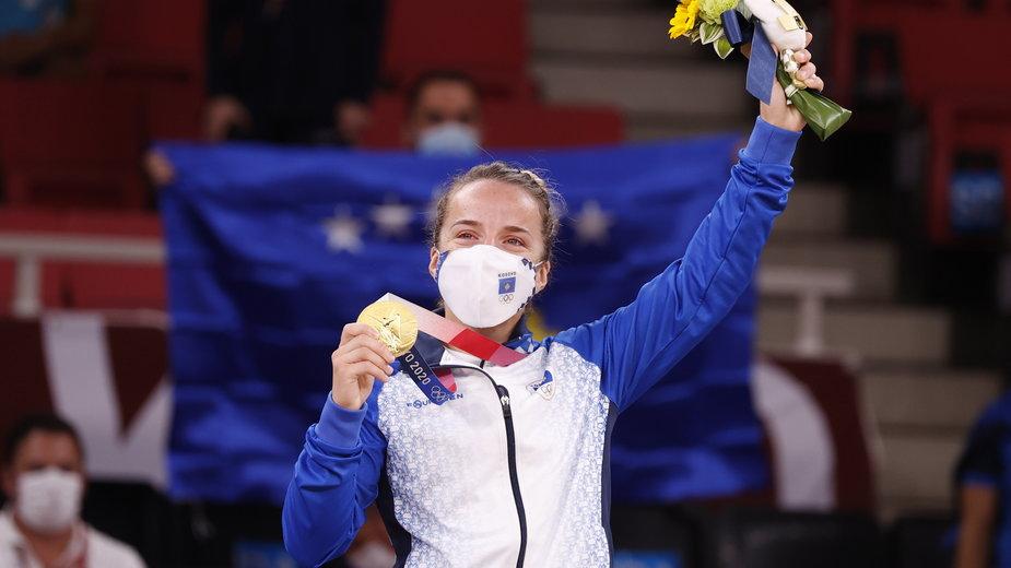 Distria Krasniqi powtórzyła sukces swojej rodaczki z igrzysk w Rio de Janeiro