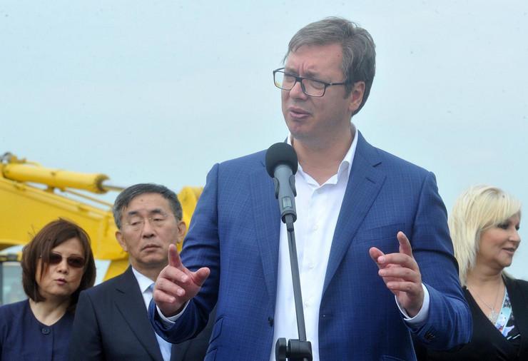 Aleksandar Vučić, Obilaznica oko Beograda