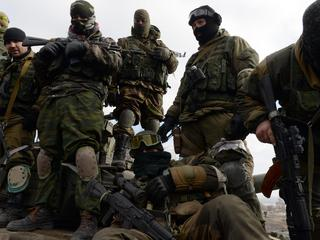 Armed pro-Russian rebels
