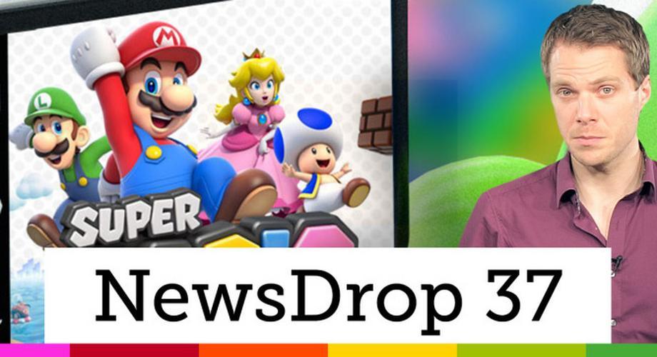 NewsDrop 37: Nintendo-Games, Galaxy-S6-Kamera, Android M