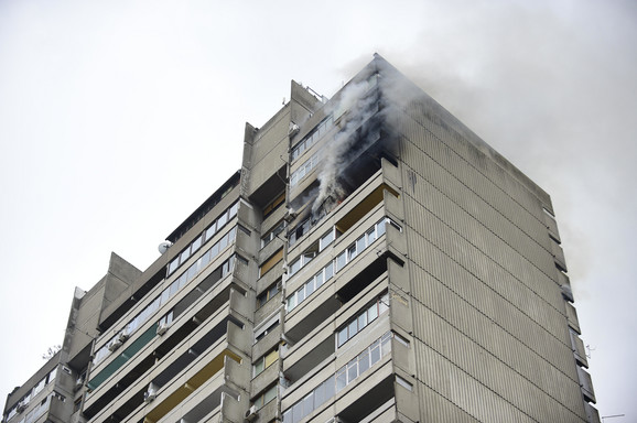 Vatra na 17. i 18. spratu