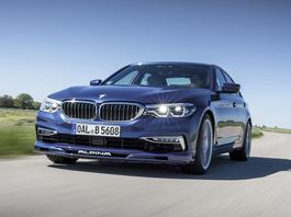 BMW Alpina B5 Biturbo - czym różni się od BMW M?